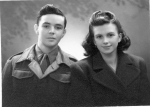 William and Joan Nelder in 1944
