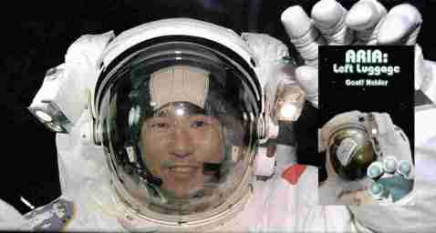astronaut with ARIA